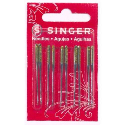 Agulha de Maquina Singer para costura 2045 especial nº09 c 10und d557f9cf409