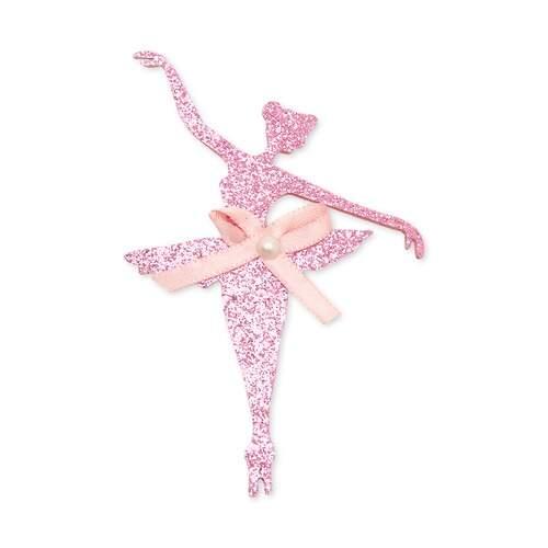 64c9c7945e Aplique de EVA com Glitter Bailarina 1387 com 10Und