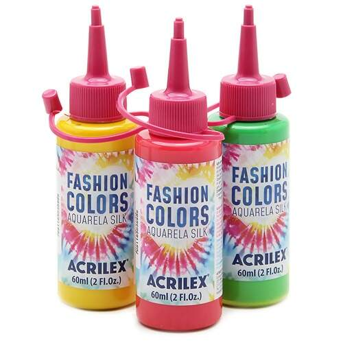 Tinta Acrilex Fashion Colors Aquarela Silk Ref.4560 60ml