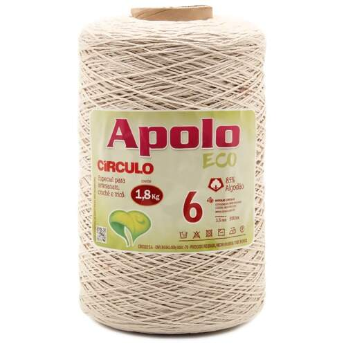 Barbante Apolo Eco Circulo N.06 Cru 1,8Kg
