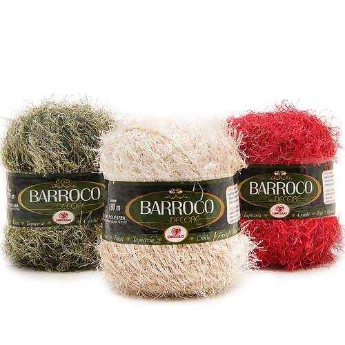 Barbante Barroco Decore 180mts 200g