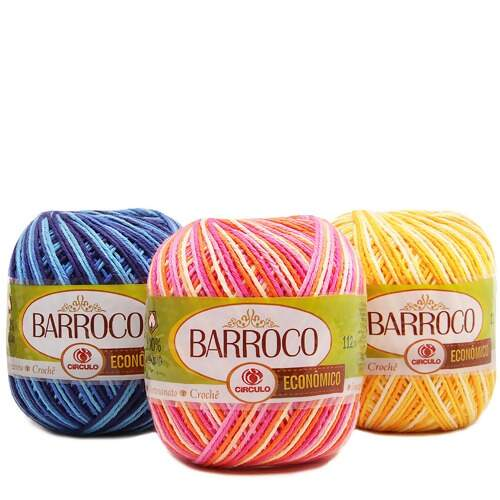 Barbante Barroco Multicolor 100g