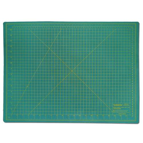 Base de Corte Dupla Face 60x45 cm 3mm Westpress Cor Verde
