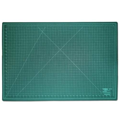 Base de Corte Dupla Face 90x60 cm 3mm Westpress Cor Verde