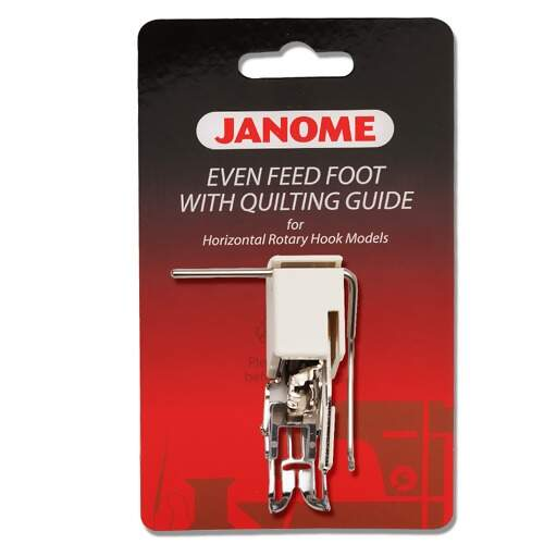 Calcador Janome Fechado para Quilting Reto Walking Foot com Guia 200311003