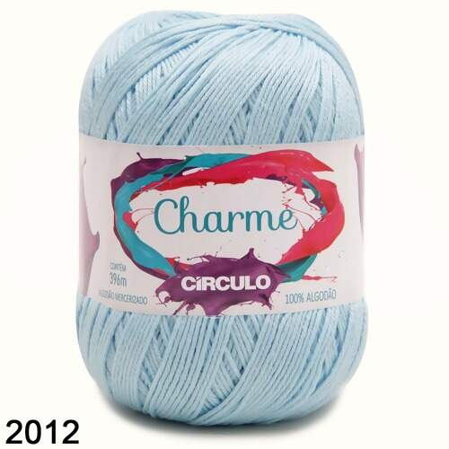 Linha Charme Circulo Candy Colors 396mt