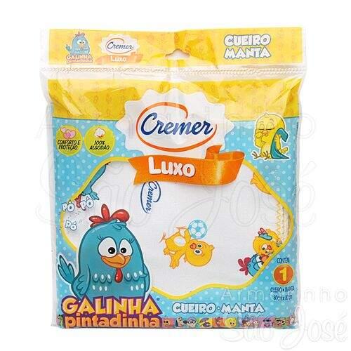 d617644a265647 Cueiro Cremer Galinha Pintadinha 80x80cm