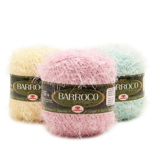 Barbante Barroco Decore Candy 180mts 200g