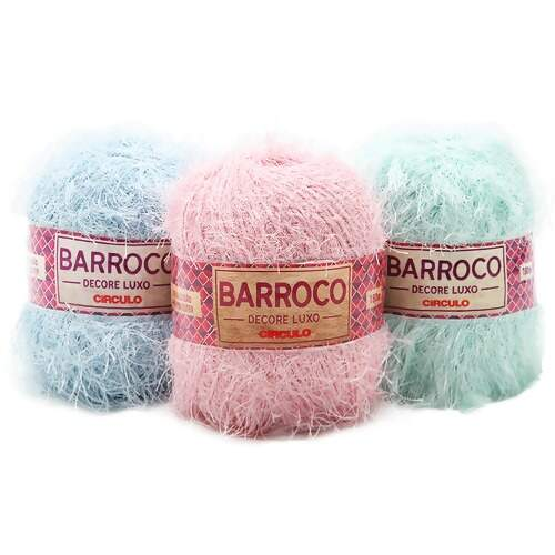 Barbante Barroco Decore Luxo Candy 180mts 280g
