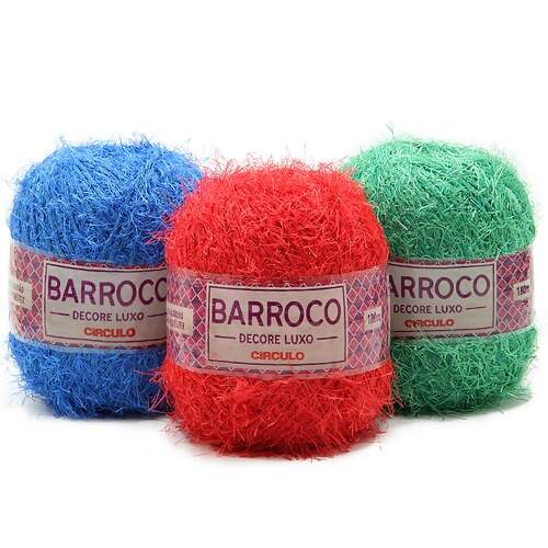 Barbante Barroco Decore Luxo - 180mt - 200g
