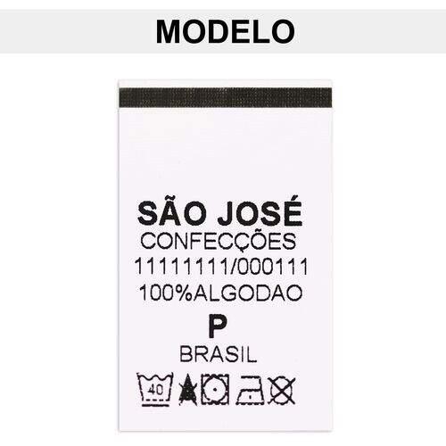 68b46dbdd19e Etiqueta de Composição Personalizada de Nylon Para Produtos Têxteis 100  unidades
