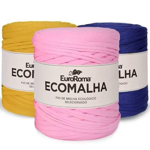 594f1473f Fio de Malha Ecomalha Euroroma 140m   Armarinho São José