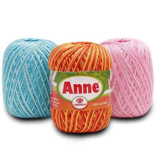 Linha Anne 500 Circulo Cores Mescladas 8440175553d