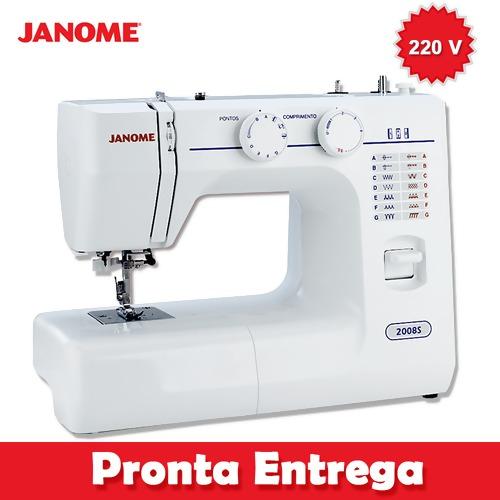 Máquina de Costura Janome 2008S 220V FL 18246f478f6