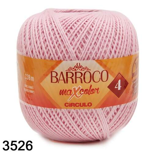 Barbante Barroco MaxColor Candy Colors nº 04 - 200g