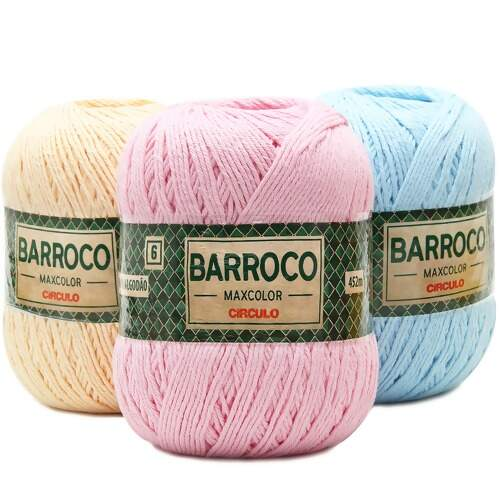 Barbante Barroco MaxColor Candy Colors nº 06 - 400g