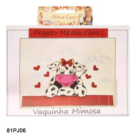Projeto Marcia Caires Vaquinha Mimosa 81pj06 Und Armarinho Sao Jose