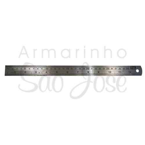 Régua de Metal Toke e Crie 30cm Ref.7458 - 01 unidade 13f40f58e11