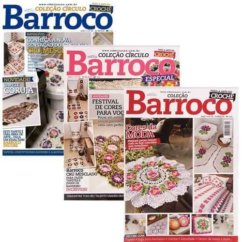 revista de croche barroco gratis