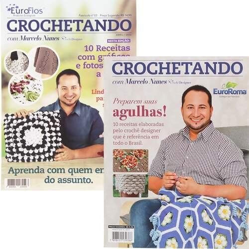 Apostila Crochetando por Marcelo Nunes