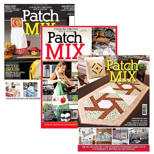 Revista Circulo Patch Mix  FL