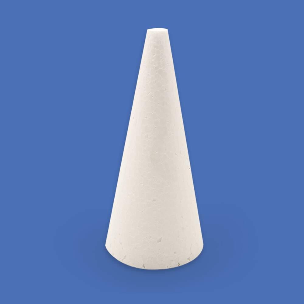 dc8000d74b Cone Maciço de Isopor 180mm (80 180) pacote c  10 unidades