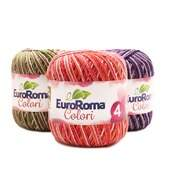 Barbante EuroRoma Colori Mesclado N°4 100g
