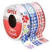 Fita de Cetim Decorativa Pet Gitex N.05 10m