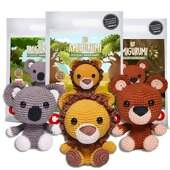 Kit Amigurumi Safari Baby Circulo