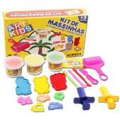 Kit de Massinhas de Modelar Acrilex Ref 40005 Art Kids 450g