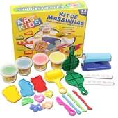 Kit de Massinhas de Modelar Acrilex Ref 40006 Art Kids 600g