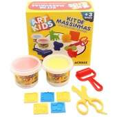 Kit de Massinhas de Modelar Acrilex Ref 40007 Art Kids 300g