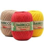 Barbante Barroco MaxColor Brilho nº 6 -  200g