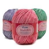 Barbante Cisne MultiArte Multicolor- 400g