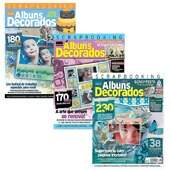 Revista Minuano Scrap Álbuns Decorados FL