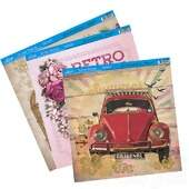 Papel p/Scrapbook Decor com Hot Stamping Litoarte 30,5x30,5cm 1 unidade