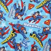 Tecido Patchwork Dohler 23316 Superman 0,98x1,50mts
