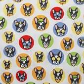 Tecido Patchwork Dohler 25756-63 5694-A Dogs 0,98x1,50mts
